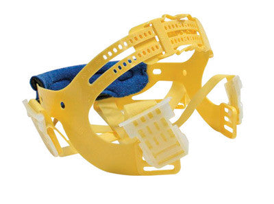 Bullard™ Yellow Seamless Woven Nylon Pinlock™ Replacement 6 Point Suspension With Brow Pad For Use With C30, C33 And C34 Classic Series Hard Hats