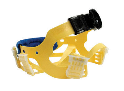 Bullard™ Yellow Seamless Woven Nylon Flex-Gear™ Replacement 6 Point Ratchet Suspension With Brow Pad For Use With C30, C33 And C34 Classic Series Hard Hats