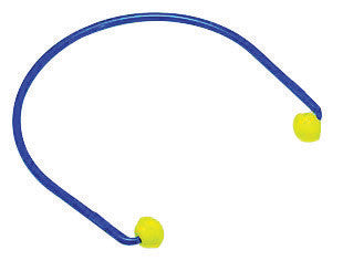 3M E-A-R Caps Blue And Yellow ABS And Polyurethane Model 200 Under Chin Banded Earplugs