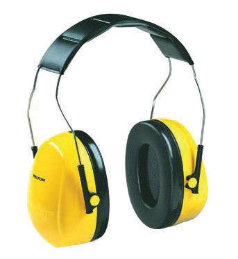 3M Peltor Optime 101 Black And Green Foam Plastic Metal Over-The-Head Earmuffs