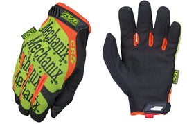 Mechanix Wear® Hi-Viz Yellow The Original® CR5A3 Armortex® And TrekDry® Full Finger Anti-Vibration Gloves With Hook And Loop Cuff
