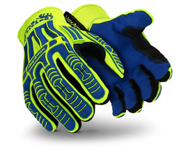 HexArmor® Size 9 Rig Lizard® 2025 SuperFabric® Cut Resistant Gloves With IR-X® Impact Exoskeleton™ Coated Back-Of-Hand