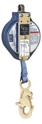 "DBI/SALA™ 11' Ultra-Lok Self-Retracting 1"" Nylon Web Lifeline With Self-Locking Snap Hook"