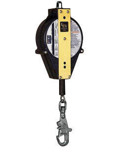 "DBI/SALA™ 20' Ultra-Lok Self-Retracting 3/16"" Galvanized Steel Cable Lifeline With Self-Locking Swivel Snap Hook"