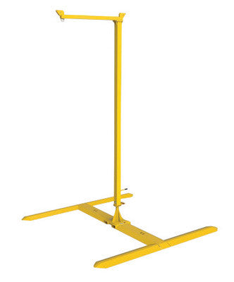 DBI/SALA™ 20' FlexiGuard SafRig Single Worker Temporary/Portable Steel Jib Fall Arrest System With Outrigger Base