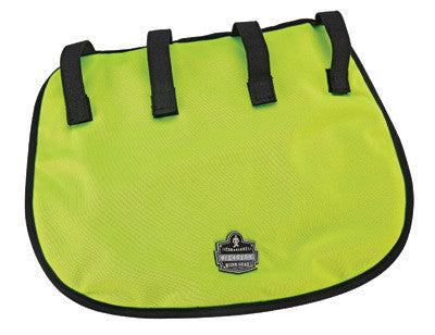 Ergodyne Hi-Viz Lime Chill-Its™ 6670CT Advanced PVA Evaporative Neck Shade With Hook And Loop Straps