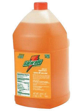 Gatorade™ 1 Gallon Liquid Concentrate Bottle Orange Electrolyte Drink - Yields 6 Gallons (4 Each Per Case)