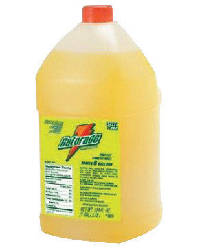 Gatorade™ 1 Gallon Liquid Concentrate Bottle Lemon Lime Electrolyte Drink - Yields 6 Gallons (4 Each Per Case)