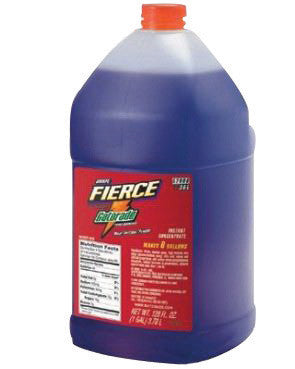 Gatorade™ 1 Gallon Liquid Concentrate Bottle Fierce Grape Electrolyte Drink - Yields 6 Gallons (4 Each Per Case)