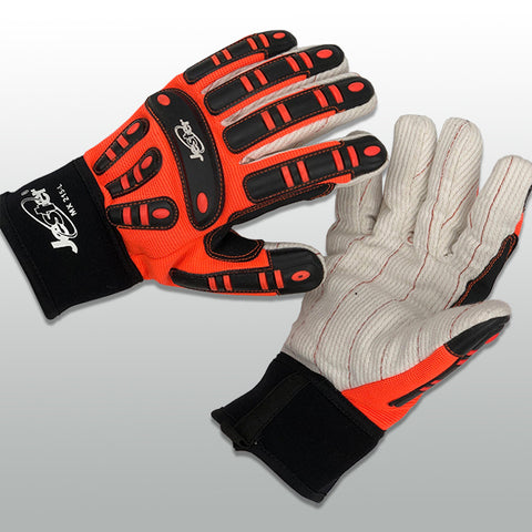 Jester® MX-Series Impact Glove w/Cotton Cord Palm