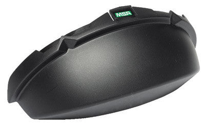 MSA Black Opaque V-Gard™ Standard Tinted Chin Protector For Use With Slotted Caps