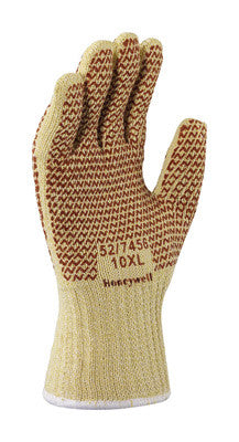 North™ By Honeywell X-Large Rust 7 Gauge Kevlar™ Blended Ambidextrous Reversible Hot Mill Gloves With Wide Knit Wrist, Cotton Lining And Nitrile Coating On Both Sides