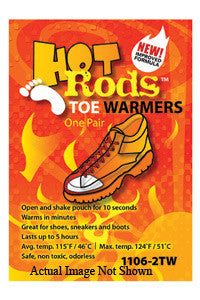 OccuNomix Hot Rods Toe Warming Packs (5 Pair Per Pack)