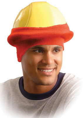 OccuNomix Hi-Viz Orange 100% Polyester Hot Rods™ Classic Hard Hat Tube Liner