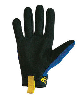 HexArmor™ Size 7 Black And Blue Mechanics+ Clute Cut SuperFabric™ And Synthetic Leather Reusable Cut Resistant Gloves With Elastic Cuff, High-Performance Polyethylene Kevlar™ Lined And Hook And Loop Closure
