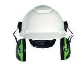 3M™ Peltor™ Black And Green Model X1P3E/32725(AAD) Cap Mount Hearing Conservation Earmuffs (10 Per Case)