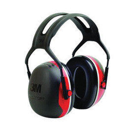 3M™ Peltor™ Black And Red Model X3A/37272(AAD) Over-The-Head Hearing Conservation Earmuffs