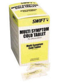 North™ By Honeywell Swift First Aid Multi-Symptom Cold Relief Tablet (2 Per Pack, 50 Packs Per Box)