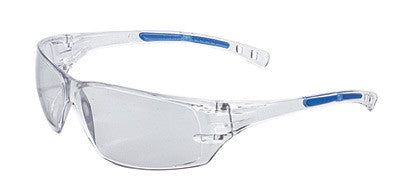 Radnor™ Cobalt Classic Series Safety Glasses With Clear Frame, Clear Lens And Flexible Cushioned Temples