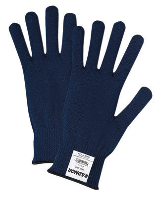 Radnor™ Blue ThermaStat™ Polyester Insulating Cold Weather Gloves With Knit Wrist
