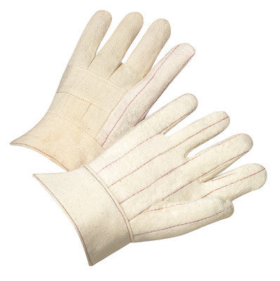 Radnor™ Heavy-Weight Nap-Out Hot Mill Glove With Band Top Cuff
