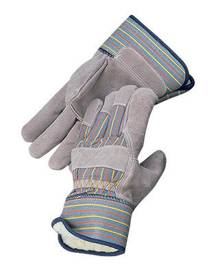 Radnor™ Large Pile Lined Cold Weather Gloves With Safety Cuffs