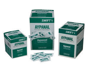 North By Honeywell™ Swift First Aid Aypanal Non-Aspirin Pain Reliever Tablet (125 Packs Per Box)
