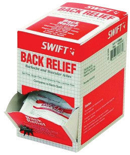 North By Honeywell™ Swift First Aid Back Pain Relief Tablet (2 Tablet Per Envelope, 50 Envelopes Per Box)