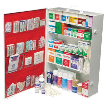 North™ by Honeywell Red 5-Shelf Pocket Insert (For 600 First Aid Cabinet)