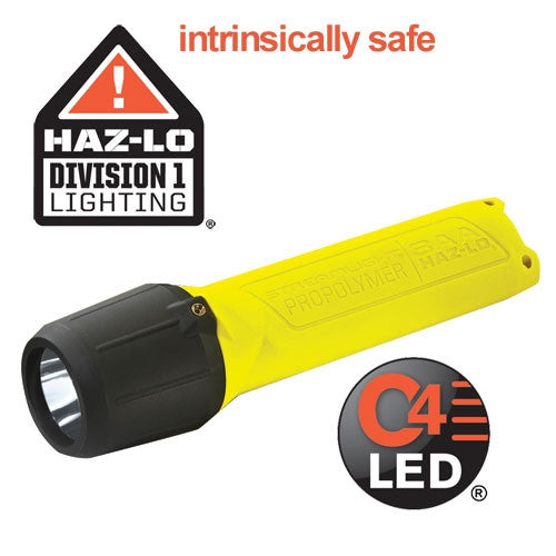 Streamlight™ ProPolymer™ HAZ-LO™ Safety Rated Flashlight (3 AA Alkaline Batteries Included)