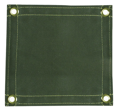 Radnor™ 6' X 6' 12 Ounce Olive Drab Duck Canvas Replacement Welding Screen