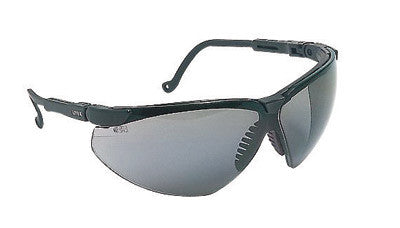 14b14e51a7 Uvex By Honeywell Genesis XC Safety Glasses With Black Polycarbonate Frame  And Gray Polycarbonate Uvextreme™ Anti-Fog Lens