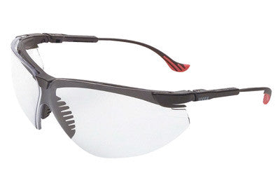 5a1e90ab8c Uvex By Honeywell Genesis XC Safety Glasses With Black Polycarbonate Frame  And Amber Polycarbonate Ultra-