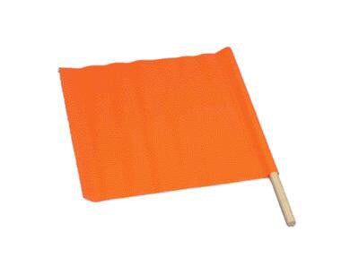 "24"" Warning Flags w/36"" Dowel"