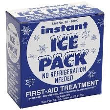 "Swift First Aid 5"" X 9"" Instant Cold Pack (1 Per Box)"