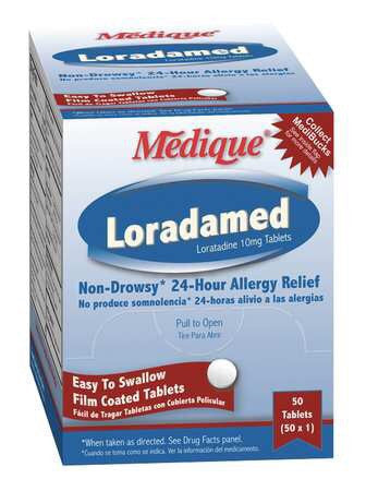 Loratadine Tablets 50 per box