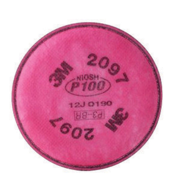 3M» P100 Filter For 5000, 6000, 6500, 7000 And FF-400 Series Respirators (2 Per Package)