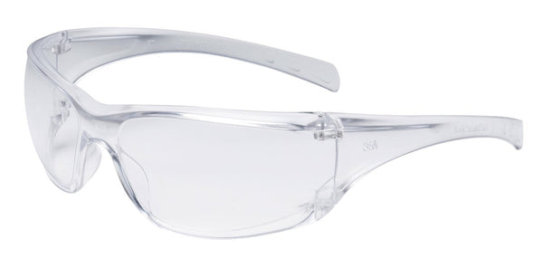 3M» Virtua» AP Safety Glasses With Clear Frame And Clear Polycarbonate Anti-Fog Lens