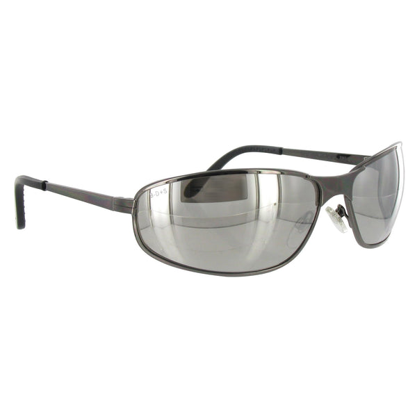 Uvex» By Honeywell Tomcat™ Safety Glasses With Gunmetal Frame And Gray Polycarbonate Anti-Scratch Lens