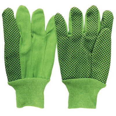 Men's Green Canvas Dot 100% Cotton