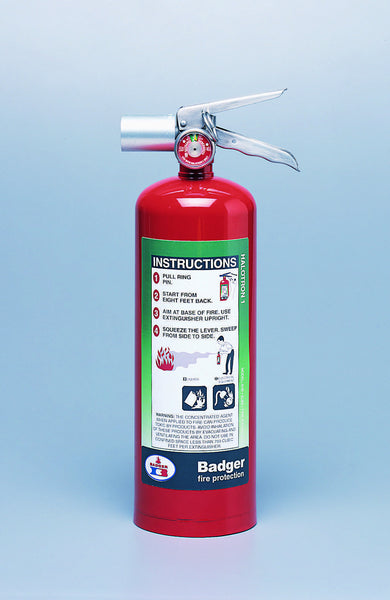 Badger 5 Lb. Halotron Fire Extinguisher