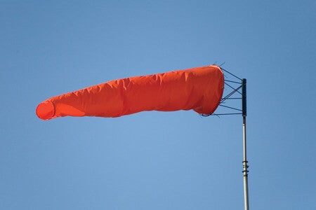 Safety Flag of America Windsock 12x48, No Hardware