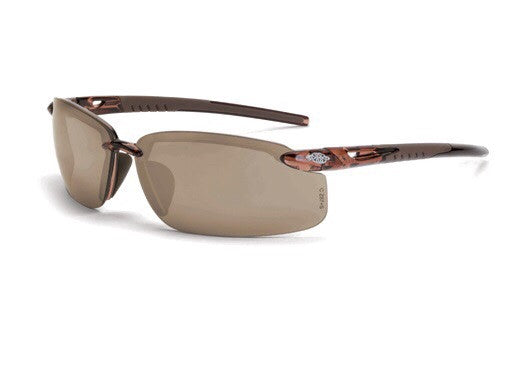 Safety Glasses Radians Crossfire ES5 Brown Mirror