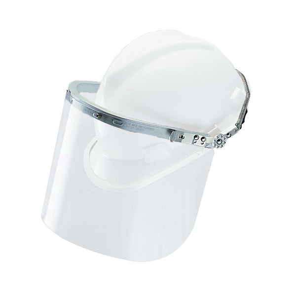 Headgear Defender + Metal Foldback for MSA Hats (Fits Lens 81/2)