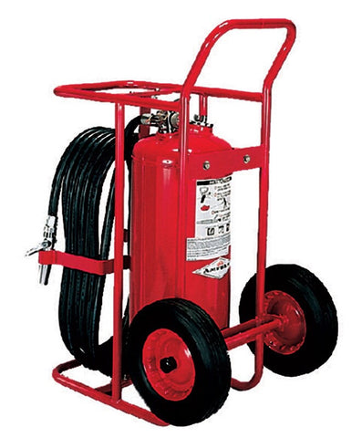 Amerex 125 Lb.  ABC Stored Pressure Wheeled Unit Fire Extinguisher