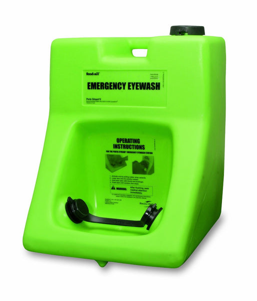 Fend-all™ Porta Stream™ II Portable Eye Wash Station With Water Additive
