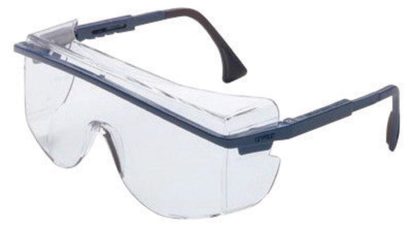 Uvex» By Honeywell Astrospec™ 3001 Over-The-Glasses Safety Glasses With Black Nylon Frame And Clear Polycarbonate Ultra-dura™ Anti-Fog Anti-Scratch Hard Coat Lens