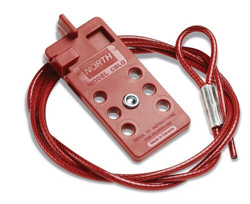 North™ by Honeywell Red 6' Steel Cable Lockout