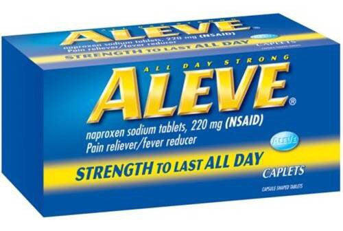 Aleve Tablets 50 Per Bottle