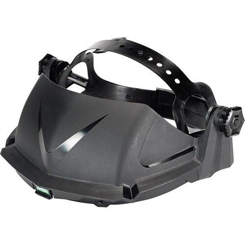 MSA Black HDPE General Purpose Headgear With Ratchet Suspension And 7 Point Crown Adjustment For Use With V-Gard™ Visors